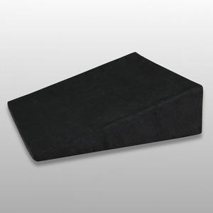 Fränkische Schlafmanufaktur Venenkissen viskoelastisch, Lagerungskissen, Beinkissen, Keilkissen, Farbe Schwarz