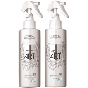 2er Pli Thermo Spray Tecni Art Loreal Professionnel Volumen je 190 ml = 380 ml