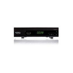 Xoro XORO HRS 8660 Satellitenreceiver (LAN (RJ45), HD Satellitenreceiver (DVB-S2) mit USB-Rekorder & Media Player)