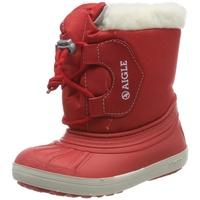Aigle Unisex-Kinder Nervei Junior Schneestiefel, Rot (Rouge 001), 33 EU