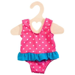 Puppen-Badeanzug pink, Gr. 35-45cm 2886
