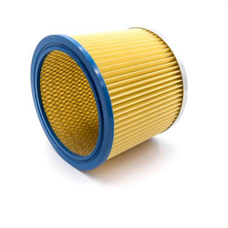 vhbw Rundfilter / Lamellenfilter passend für Staubsauger Aldi Workzone Nass- und Trockensauger