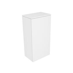 Keuco Edition 400 Mittelschrank 31725380001 45x89,4x30cm, Anschlag links, weiß