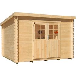 Kiehn-Holz Gartenhaus Hummelsee 2, BxT: 240x210 cm, inkl. Aufbau