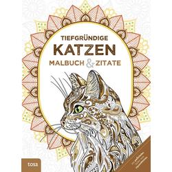 Tiefgründige Katzen als Buch von