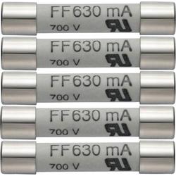 Testo 0590 0007 0590 0007 Sicherung Multimetersicherung 5er Set Ersatzsicherungen 630mA/600V 1St.
