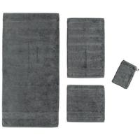 CAWÖ Noblesse2 Uni 1002 Handtuch 50 x 100 cm anthrazit