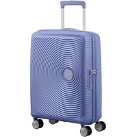American Tourister Soundbox 4-Rollen Cabin 55 cm / 35,5-41 l denim blue