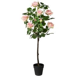 Künstliche Zimmerpflanze (1 Stück), Kunstpflanzen, 61616904-0 rosa H: 95 cm rosa