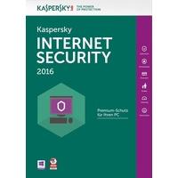 Kaspersky Lab Internet Security 2016 3 User ESD DE Win