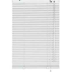 Jalousie Klemm-Jalousie, my home, ohne Bohren, freihängend, Aluminium-Jalousie zum Klemmen weiß 125 cm x 175 cm