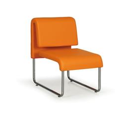 Sofa public, orange