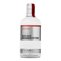 Berliner Brandstifter Vodka 0,7L (43,3% Vol.) mit Gravur