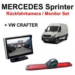 Rückfahrkamera Set Mercedes VW