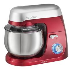BOMANN Küchenmaschine BOMANN Knetmaschine Rührmaschine Küchenmaschine 1000 Watt KM 6009 rot