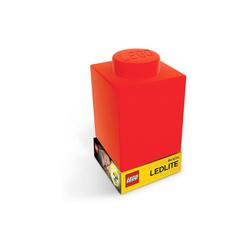 LEGO® Nachttischlampe Nachtlicht LEGO-STEIN, rot