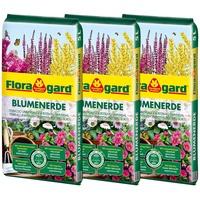 Floragard Blumenerde 3 x 5 l