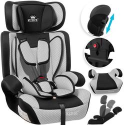 KIDIZ Autokindersitz, Kinderautositz Kindersitz Autositz Sitzschale 9 kg - 36 kg 1-12 Jahre Gruppe 1/2/3 universal zugelassen nach ECE R44/04 6 verschiedenen Farben grau