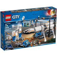 Lego City Raketenmontage & Transport