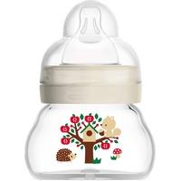 MAM Babyflasche Weithalsflasche, Glas, 90 ml