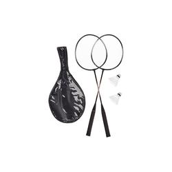 relaxdays Badmintonschläger Badmintonset mit Tasche