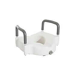 Toilettenaufsatz mit Armlehne