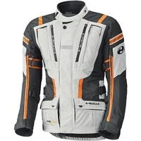 Held Hakuna II Textiljacke, grau-orange, Größe 2XL
