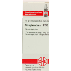STROPHANTHUS C 30 Globuli 10 g