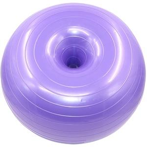 TheStriven Balance Gymnastikball Donut Ball Mit Luftpumpe Donut Übung Schweizer Stabilitätsball Robuster Springball Für Yoga, Pilates Und Gleichgewichtstraining Im Fitnessstudio Büro 50cm X 28cm