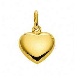 Adelia´s Anhänger Set 585 Gold Anhänger Herz, 585 Gold Goldschmuck für Damen