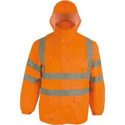 Regenjacke RJO, Gr.M, orange
