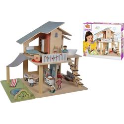 Eichhorn Puppenhaus, (25-tlg), mit Möbeln und Spielfiguren