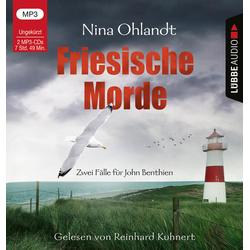 Friesische Morde als Hörbuch CD von Nina Ohlandt