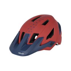 XLC Fahrradhelm XLC Enduro Helm BH-C31 Gr. 54-58, rot/blau