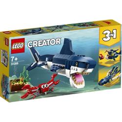 LEGO® Puzzle LEGO® Creator 31088 Bewohner der Tiefsee, Puzzleteile