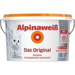 Wandfarbe Alpinaweiß Das Original, für Innenwände