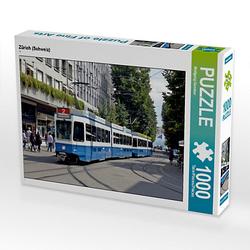 Zürich (Schweiz) Lege-Größe 64 x 48 cm Foto-Puzzle Bild von Wolfgang Gerstner Puzzle