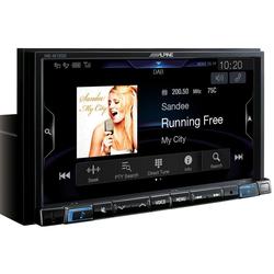 ALPINE Audio-System (Alpine INE-W720DC - Navi Station inkl. Wohnmobil- & LKW-Software)