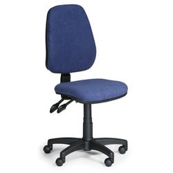 Bürostuhl alex ohne armlehnen, blau