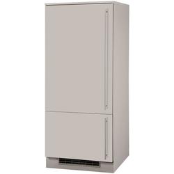 wiho Küchen Kühlumbauschrank Chicago 60 cm breit, für Einbaukühlschrank natur