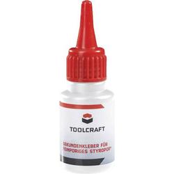 TOOLCRAFT Styrodur® Sekundenkleber 886540 20g