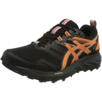 ASICS Damen Gel-Sonoma 6 G-TX Trail Running Shoe, Black/Sun Peach,