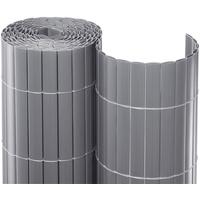 NOOR Sichtschutzmatte PVC 120 cm silber