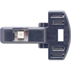 Jung 90-LEDBL, LED-Leuchte, 230 V, AC/DC, Stromaufnahme: 1,1 mA, polungsunabhängig, blau