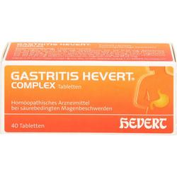 GASTRITIS HEVERT Complex Tabletten 40 St.