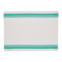 JAMIE OLIVER Geschirrtuch Vintage Set 2-tlg. Dunkelgrau Jadegrün 70x50 cm