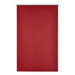 Seitenzugrollo Klemmfix-Rollo, K-HOME, verdunkelnd, ohne Bohren, 1 Stück rot 60 cm x 200 cm