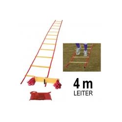 Koordinationsleiter - flach 4 m