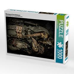 Steampunk Pest Doktoren Lege-Größe 48 x 64 cm Foto-Puzzle Bild von Steampunk Artwork Puzzle