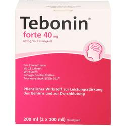 TEBONIN forte 40 mg Lösung 200 ml
